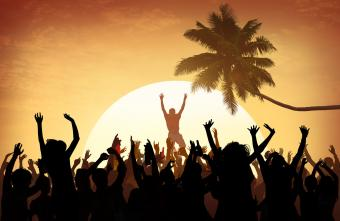Outdoor Music Festival Concept