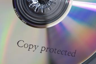 Copy protected CD