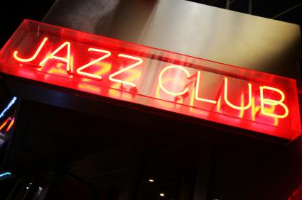 Jazz club sign