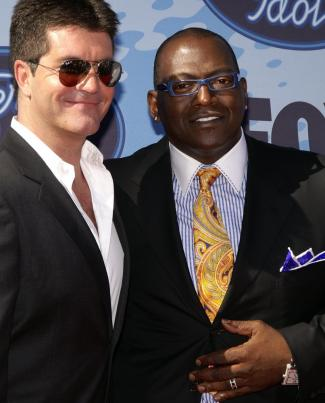 Simon Cowell and Randy Jackson Season 5 American Idol Finals