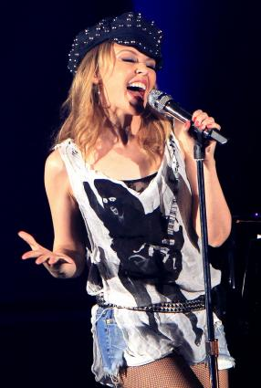 Kylie Minogue in concert; Solarpix / PR Photos