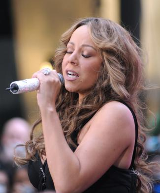 Mariah Carey in concert on NBC