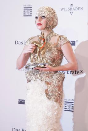 Lady Gaga at the Bambi Awards