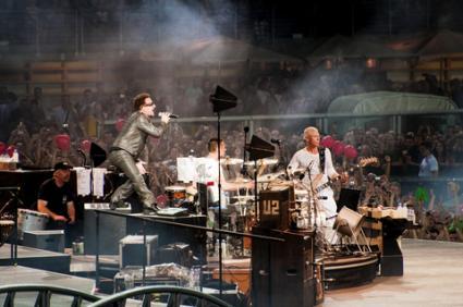 U2 in Concert; © Thevirex | Dreamstime.com