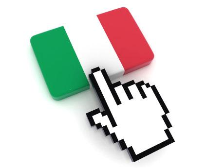 Italian on internet