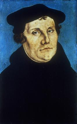 Monk and theologian Martin Luther