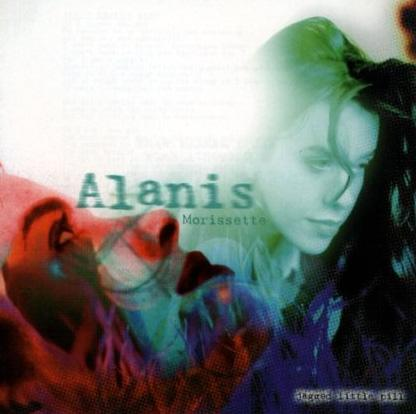 Cover of Alanis Morisette's album containing the single You Oughta Know