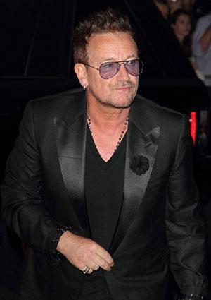 Bono at GQ Men of the Year Awards 2012