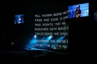 U2 Concert in Amsterdam Arena, Netherlands 2005