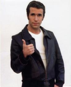 The Fonz in Happy Days