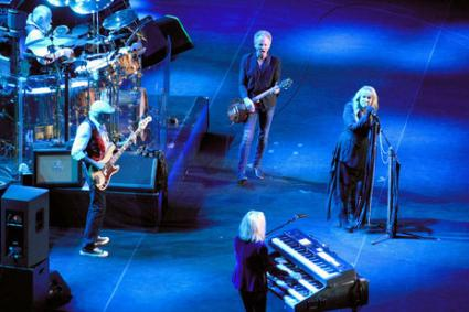 Fleetwood Mac in concert at Madison Square Garden