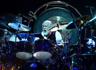 Drummer Mick Fleetwood of Fleetwood Mac 2013
