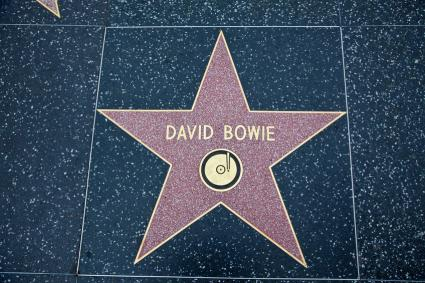 Hollywood Walk Of Fame Star David Bowie