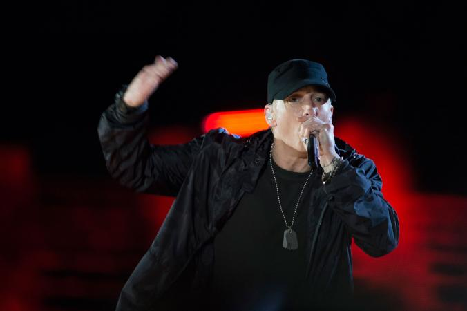 Eminem DoD News photo