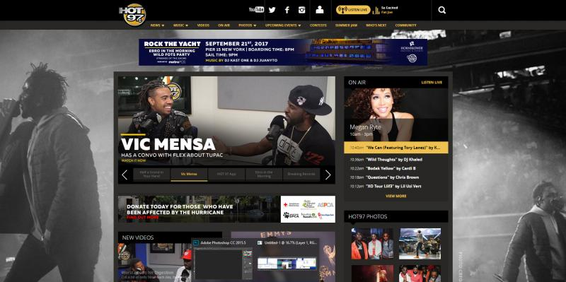 Screenshot of Hot 97