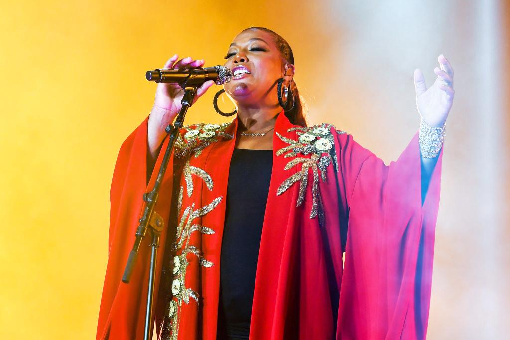 Queen Latifah at the 2018 Essence Music Festival