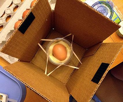 Recipiente De Gota De Huevo