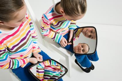 gemelas con espejos