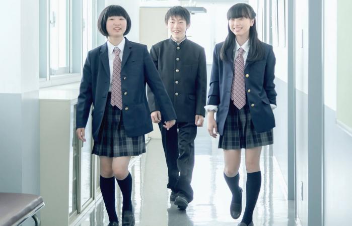 Estudiantes japoneses