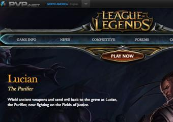 League of Legends online game