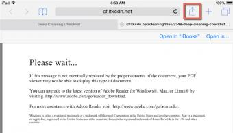iOS without adobe reader for dynamic pdfs