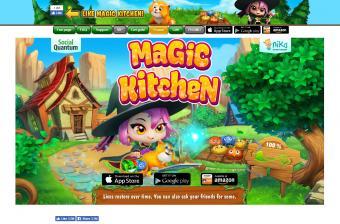 Screenshot of Magic Kitchen