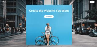 Wix Site Screenshot