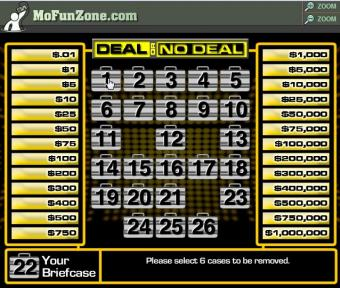 Play Deal or No Deal Online