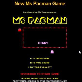 Play Ms Pac Man Online