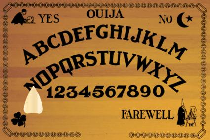 Online Ouija board from Hidden Influences Interactive