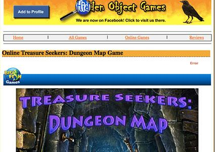Screenshot of Online Treasure Seekers: Dungeon Map Game