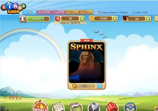 Screenshot of Bingo Bash online game