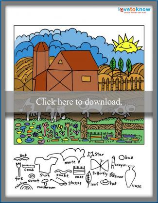 Farm Hidden Objects Game