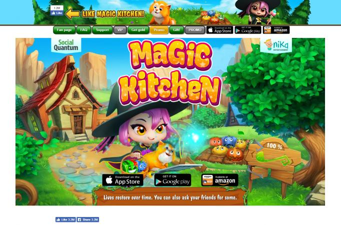 Screenshot of Magic Kitchen
