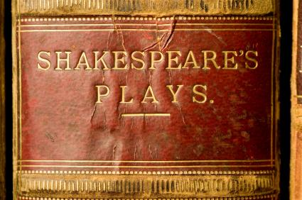 A book of Shakespeare's Plays