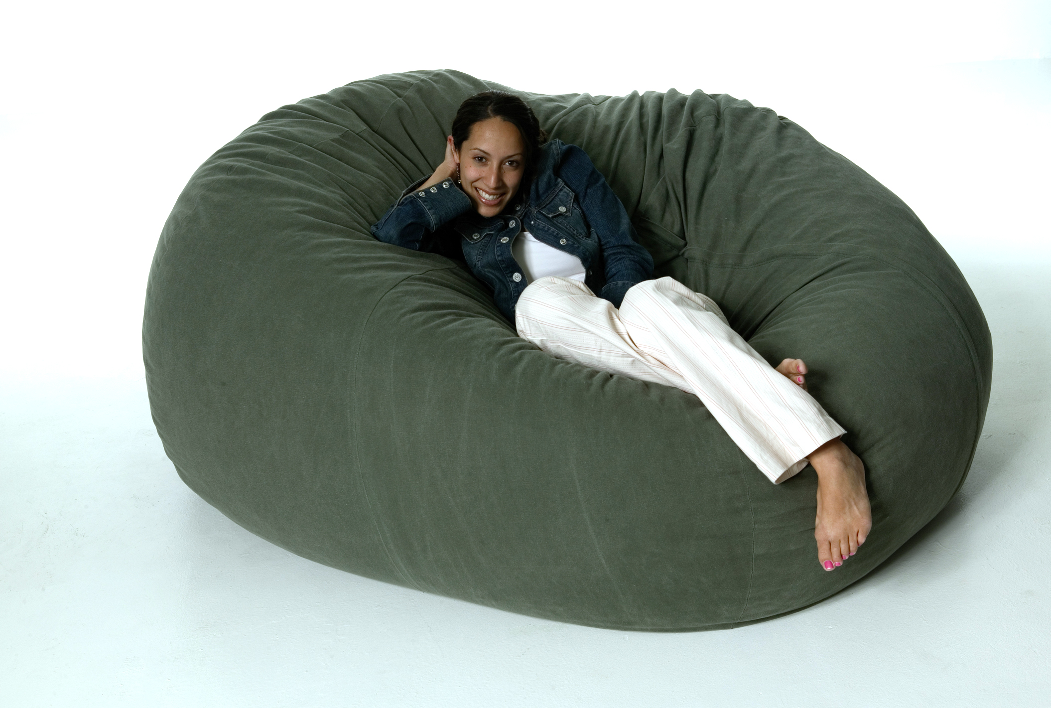 Fine Organic Or Natural Bean Bag Chair Lovetoknow Dailytribune Chair Design For Home Dailytribuneorg
