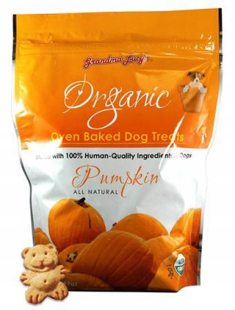 Grandma Lucy's pumpkin dog treats