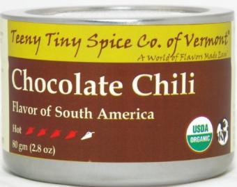 Teeny Tiny Spice Co. of Vermont Organic Chocolate Chili at Amazon.com