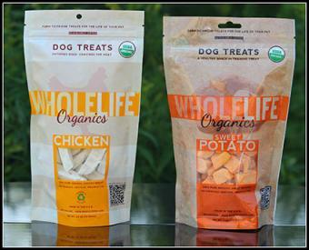 Whole Life organic dog treats