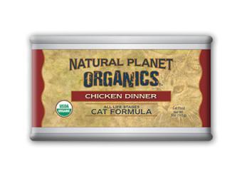 Natural Planet Organics cat food