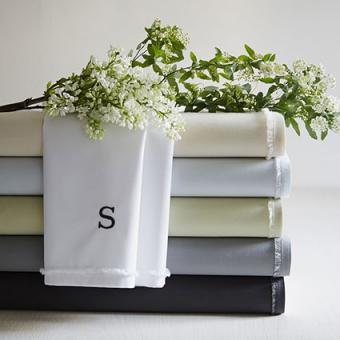 Organic Cotton Frayed Edge Sheet Set