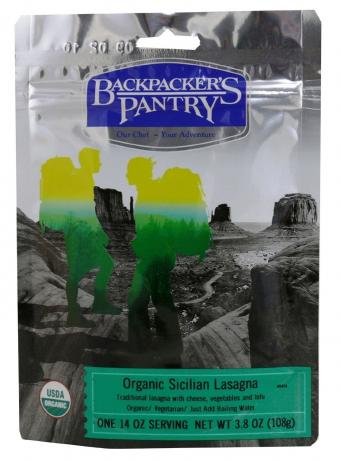 Backpacker's Pantry Organic Sicilian Lasagna