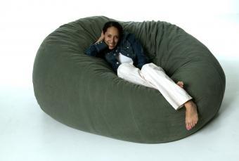 Organic or Natural Bean Bag Chair