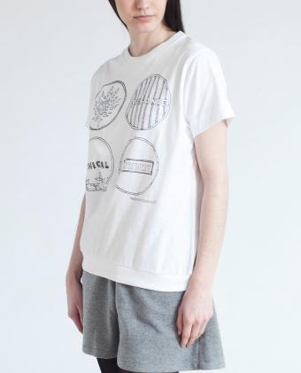 CAYLA Organic Cotton Print Tshirt