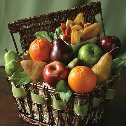 Simply Organic Fruit basket from The Fruit Company