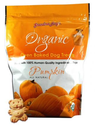 Grandma Lucy's pumpkin dog treats