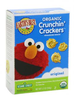 Earth's Best Organic Sesame Street Crunchin' Crackers