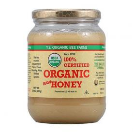 Jar of YS Organic Raw Honey