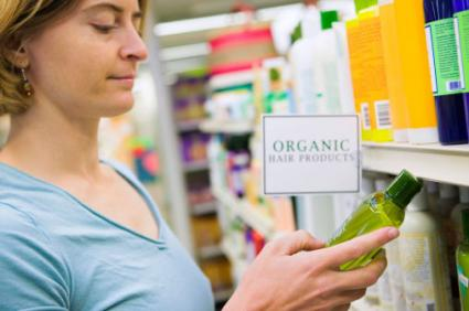 Shopping for organic products