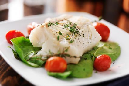Broiled Halibut